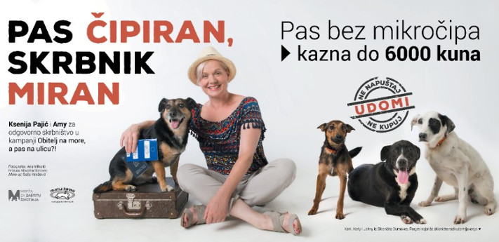 Ksenija Pajić i Amy za odgovorno skrbništvo