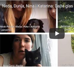 Neda, Dunja, Nina i Katarina: Dajte glas za kastraciju pasa i mačaka