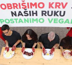 Performans za Svjetski dan veganstva